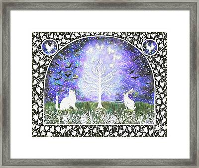 The Attraction Framed Print by Lise Winne