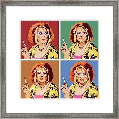The Auburn Jerry Hall Framed Print