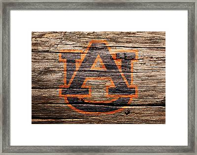 The Auburn Tigers 1a Framed Print