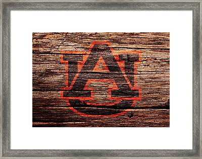 The Auburn Tigers Framed Print by Brian Reaves