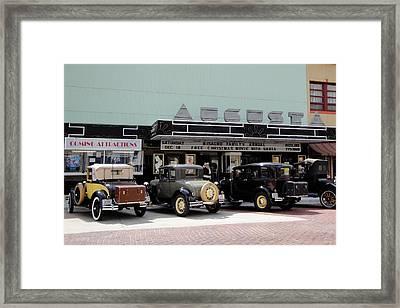 The Augusta Framed Print by Crystal Socha