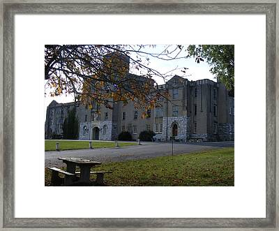 The Augusta Military Acadamy Framed Print by James and Vickie Rankin