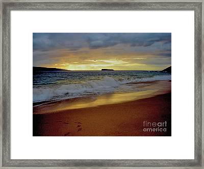 The Aura Of Molokini Framed Print
