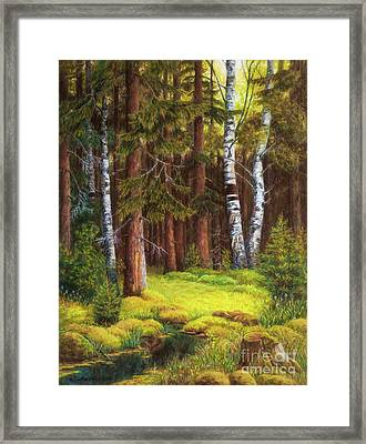 The Autumn Is Coming Framed Print