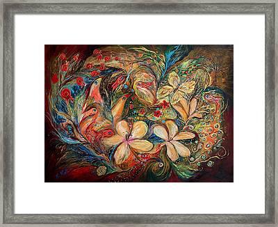 The Autumn Wind Framed Print by Elena Kotliarker