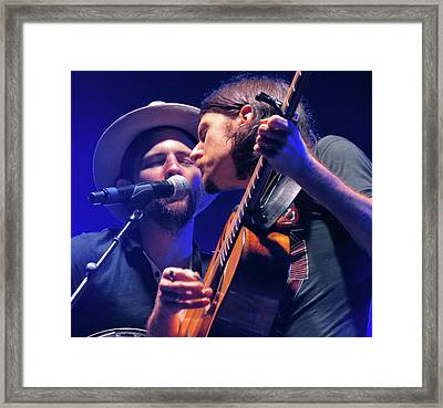 The Avett Brothers 03 Framed Print by Julie Turner