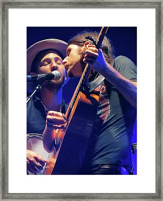 The Avett Brothers 04 Framed Print by Julie Turner