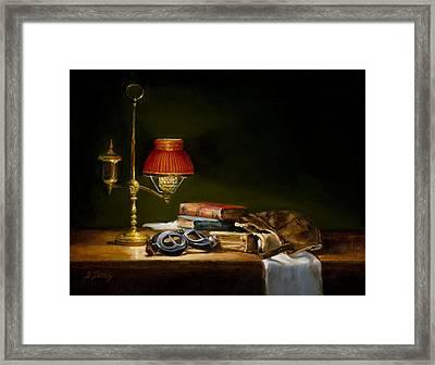 The Aviator Framed Print by Barbara A Jones