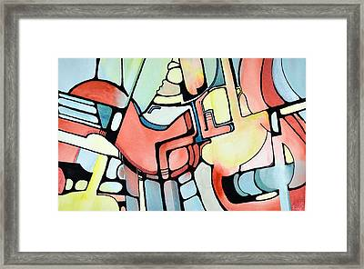 The Aviator Framed Print