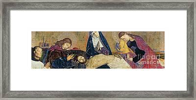 The Avignon Pieta Framed Print