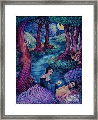 The Awakening Framed Print by Debra A Hitchcock