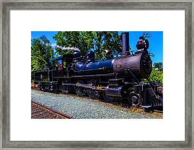 The Awesome Steam Train No 3 Framed Print by Garry Gay