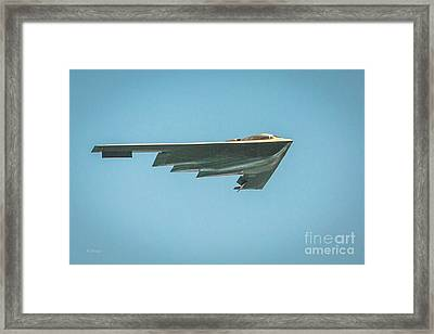 The B-2 Bomber Framed Print by Rene Triay Photography