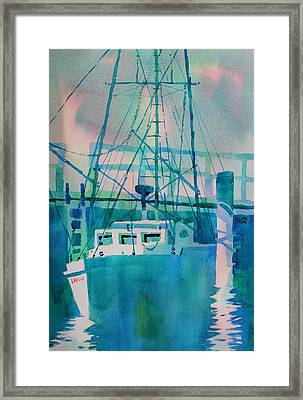 The B Phyllis At Fishermans Wharf Framed Print