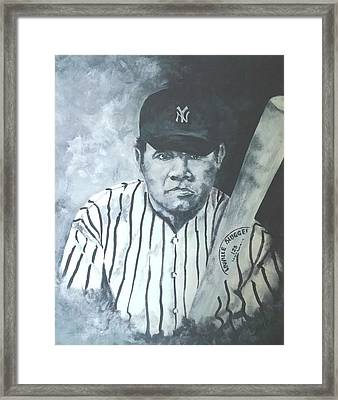The Babe Framed Print by Jim Brown