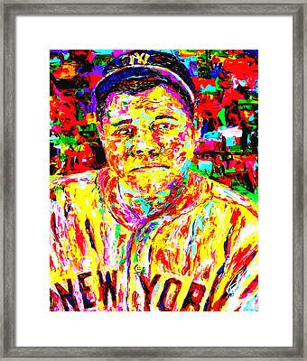 The Babe Framed Print by Mike OBrien