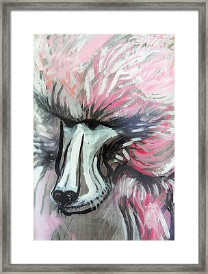 The Baboon   Framed Print by Marian Voicu
