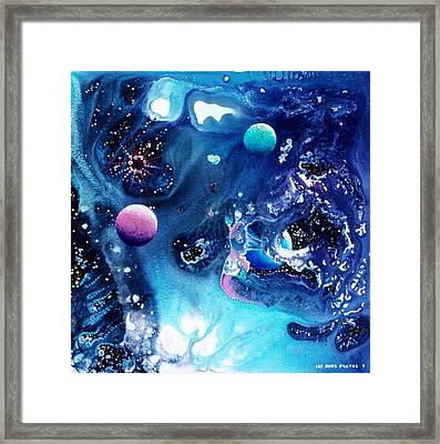 The Baby Ceraphladon Framed Print by Lee Pantas
