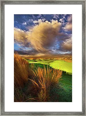 The Back Nine Framed Print by Phil Koch