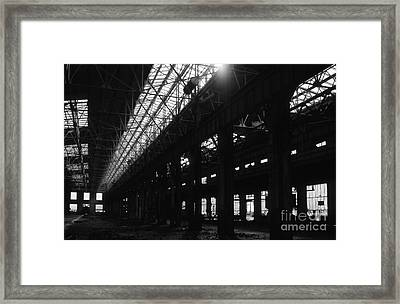 The Back Shop Framed Print by Richard Rizzo