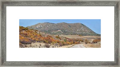 The Back Way Home Framed Print by Daniel Hebard