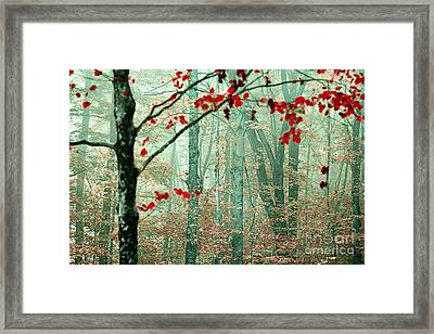 The Backup Singers Framed Print by Katya Horner