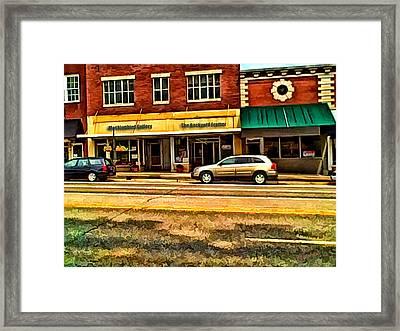 The Backyard Framer Framed Print by Kathy Tarochione
