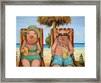 The Bacon Shortage 2 Framed Print by Leah Saulnier The Painting Maniac
