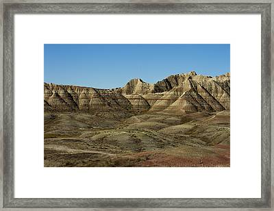 The Bad Lands Framed Print