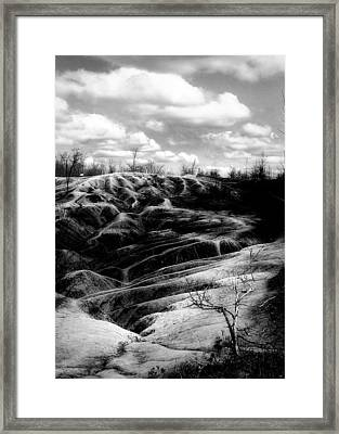 The Badlands 2 Framed Print by Cabral Stock