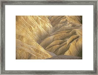The Badlands Framed Print