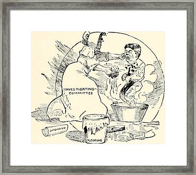 The Bailey Controversy In Texas Framed Print