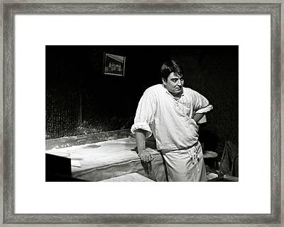 The Baker Framed Print by Dave Bowman