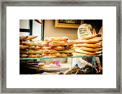 Framed Print featuring the photograph The Baker by Jason Smith