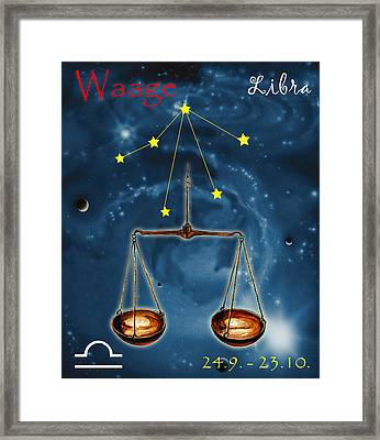 The Balance Of The Universe Framed Print