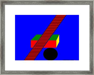 The Balance.  Framed Print by Richard Magin