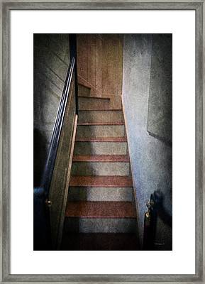 The Balcony Stairs Framed Print by Brian Wallace