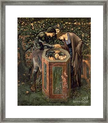 The Baleful Head Framed Print by Sir Edward Burne-Jones