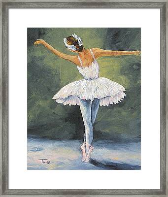 The Ballerina II   Framed Print