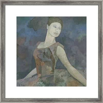The Ballerina Framed Print by Steve Mitchell