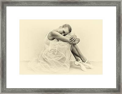 Le' Ballerina Framed Print