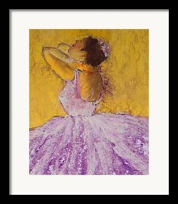 Bell Tutu Framed Prints