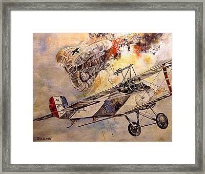 The Balloon Buster Framed Print by Marc Stewart