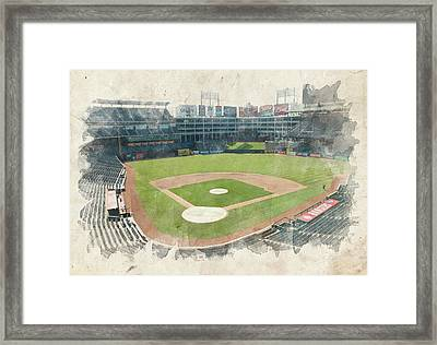 The Ballpark Framed Print