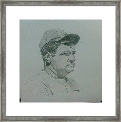 The Bambino Framed Print