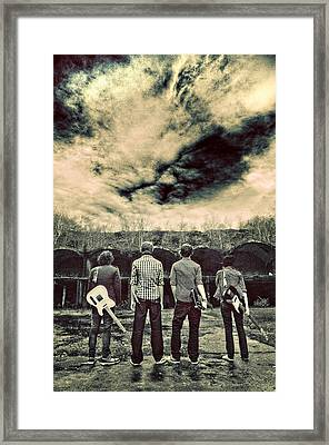 The Band Has Arrived Framed Print by Meirion Matthias