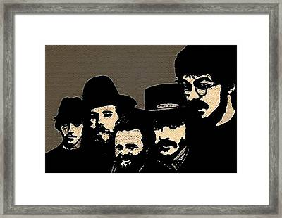 The Band Framed Print by Jeff DOttavio