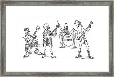 The Band Framed Print by R  Allen Swezey