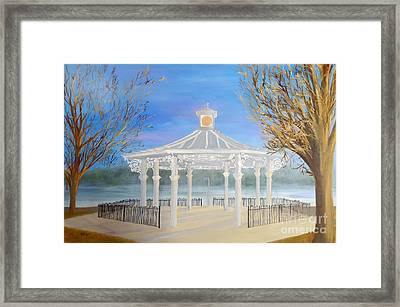 The Bandstand Basingstoke War Memorial Park Framed Print