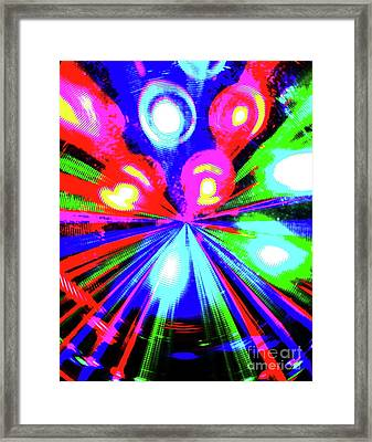Framed Print featuring the photograph The Bang by Jesse Ciazza